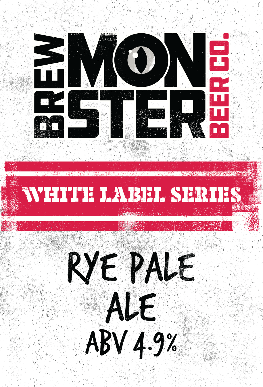 White Label Series Rye Pale Ale