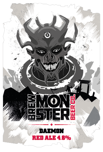 Brew Monster - Daemon RED ALE