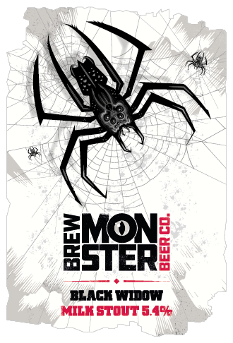 Brew Monster - Black Widow Stout